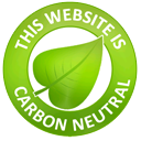 Carbon neutral website design