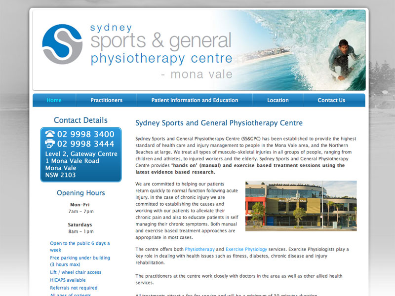 sports med physiotherapy sydney - photo#3