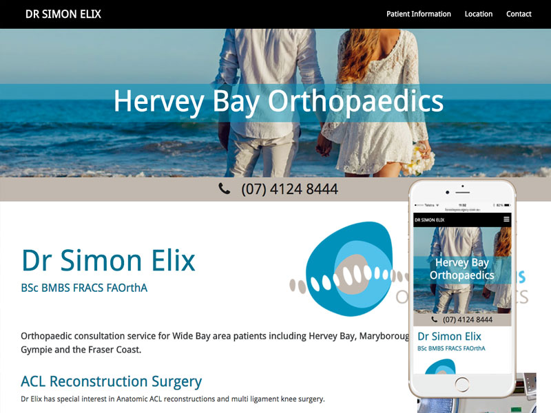 Queensland Medical Website Design