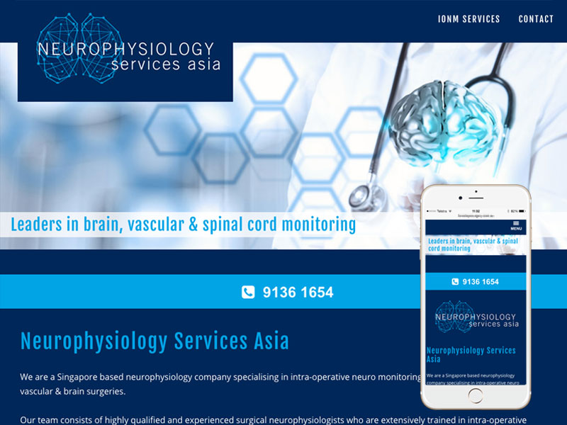 Surgical Website Design Singapore