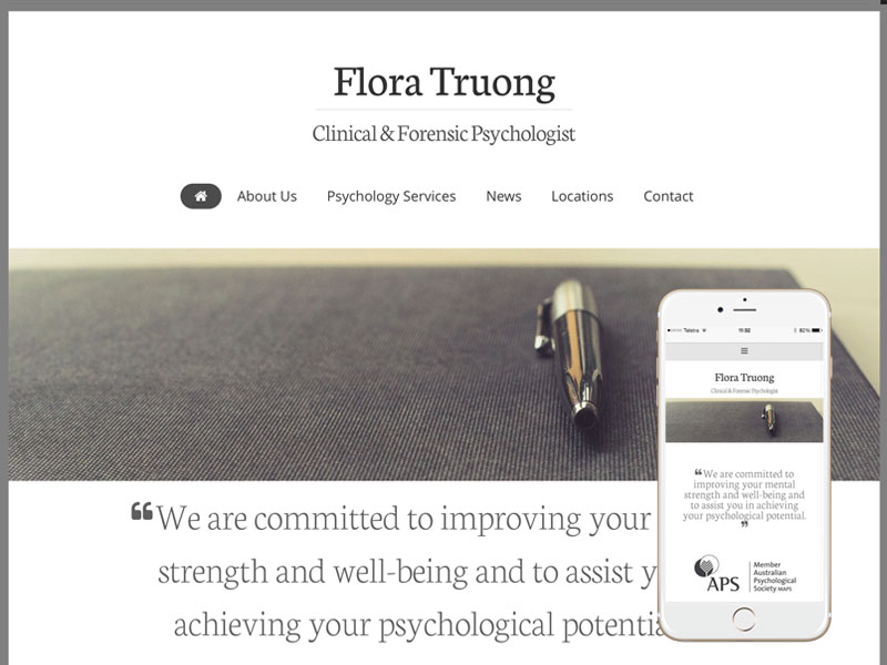 Psychiatry Website Design Sydney