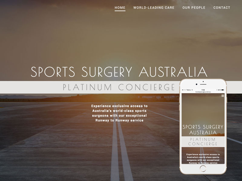 Surgery Australia Website Design