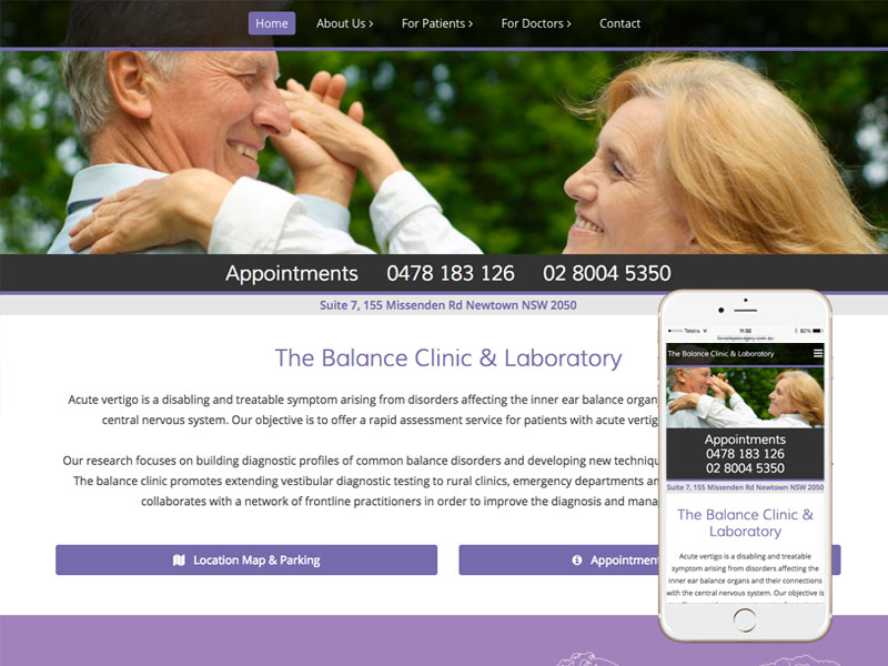 Medical Website Design Brisbane